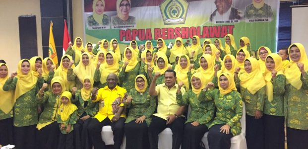 Golkar Papua Aktifkan Pengurus Pengajian Al-Hidayah