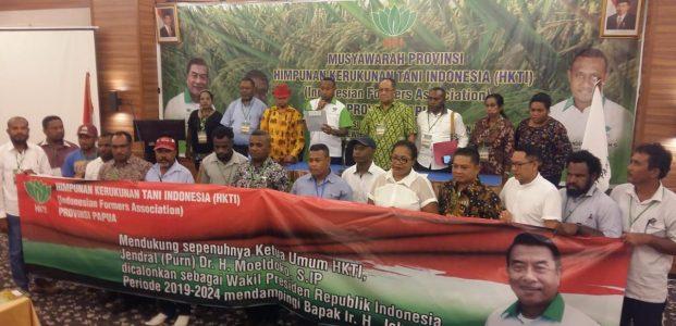 HKTI Papua Deklarasikan Moeldoko Cawapres Jokowi