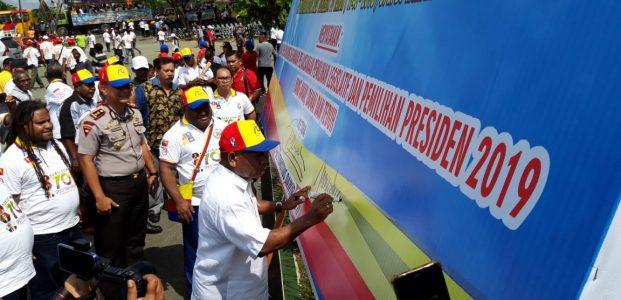 GPdI di Tanah Papua Deklarasi Dukung Pemilu Damai