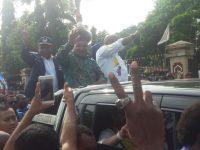 Ribuan Warga Antar LUKMEN Daftar ke KPU Papua