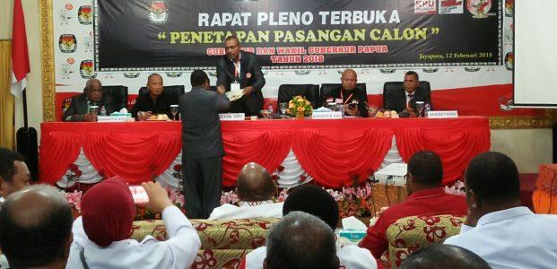 Penetapan Cagub Papua Ditunda 7 Hari, Tunggu Verifikasi OAP