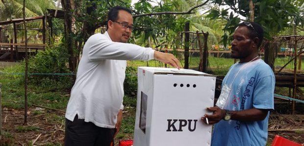 DPR Papua Sayangkan Minimnya Pemilih Gunakan Hak Suara